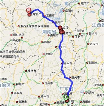 广州到千赢国际qy142旅游自驾车交通路线(火车/飞机)